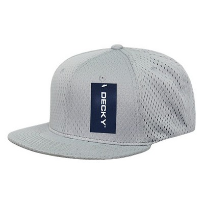 Picture of Decky Mesh Jersey Flat Bill Snapback
