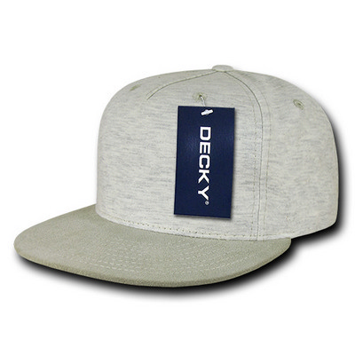 Picture of Decky 5 Panel Heather Jersey Knit Cap