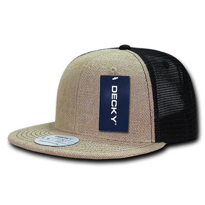 Picture of Decky Jute Trucker Snapback