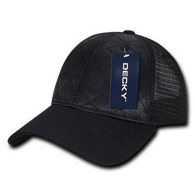 Picture of Decky Quilted Curve Trucker Cap
