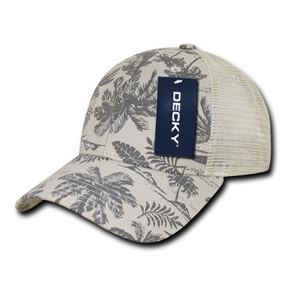Picture of Decky Tropical Trucker Cap
