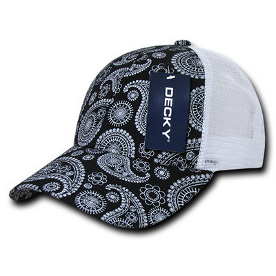 Picture of Decky Paisley Trucker Cap