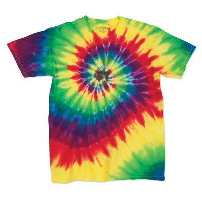 Picture of Dyenomite MULTI-SPIRAL TIE DYED T-SHIRT