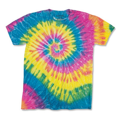 Picture of Dyenomite RIPPLE TIE DYED T-SHIRT