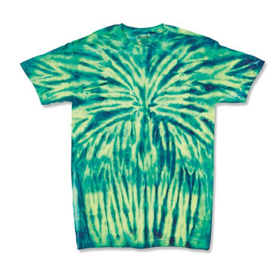 Picture of Dyenomite SPIDER TIE DYED T-SHIRT