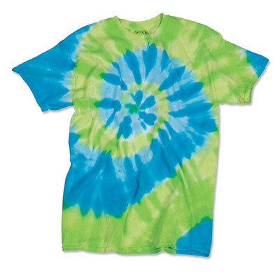 Picture of Dyenomite TYPHOON TIE DYED T-SHIRT