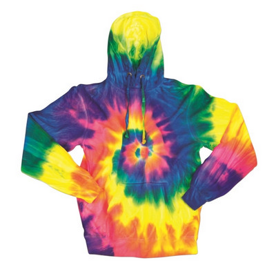 Picture of Dyenomite MULTI-SPIRAL HOODIE
