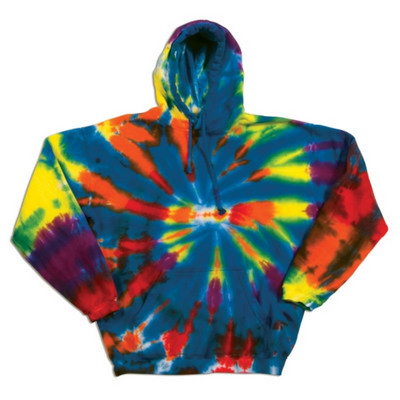 Picture of Dyenomite CUT SPIRAL HOODIE