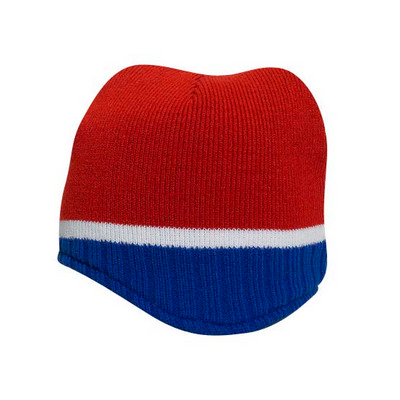 Picture of Otto Beanie With Trim And Fleece Lining