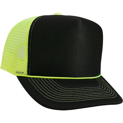 Picture of Otto Five Panel High Crown Mesh Back Cap