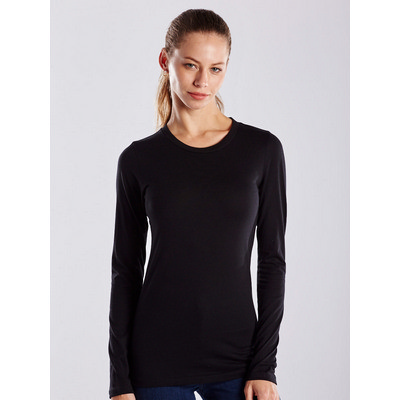 Picture of US Blanks WOMEN L SLEEVE JERSEY CREW