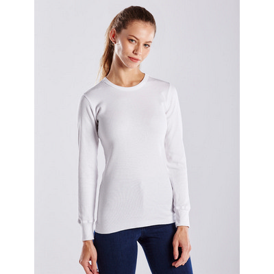 Picture of US Blanks WOMEN L SLEEVE THERMAL CREW