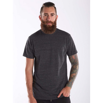 Picture of US Blanks MEN S SLEEVE TRI-BLEND CREW