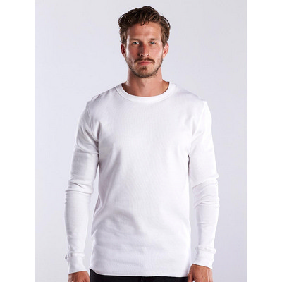Picture of US Blanks MEN L SLEEVE THERMAL CREW