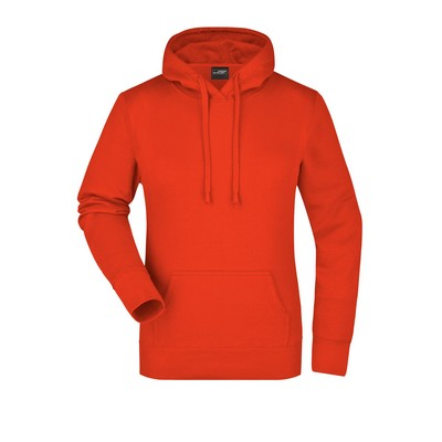 Picture of James & Nicholson Ladies Hooded Sweat