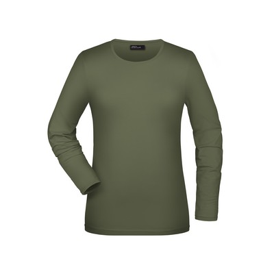 Picture of James & Nicholson Tangy-T Long-Sleeved