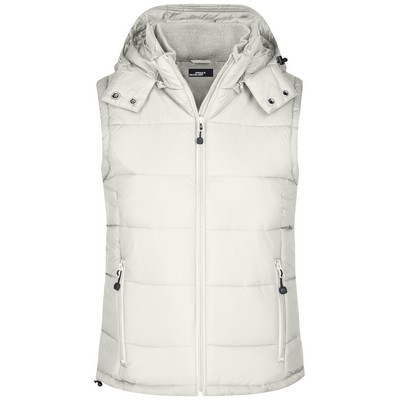 Picture of James & Nicholson Ladies Padded Vest