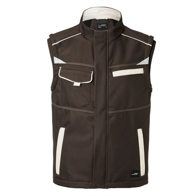 Picture of James & Nicholson Workwear S/shell Vest