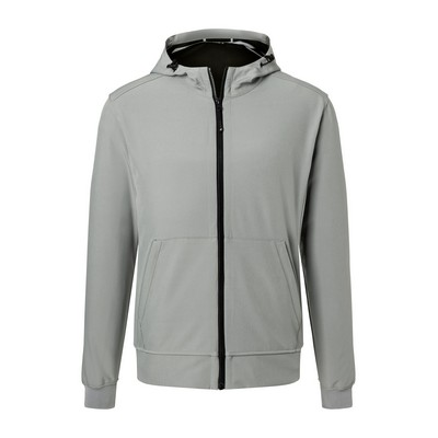 Picture of James & Nicholson Men Hooded Softshel