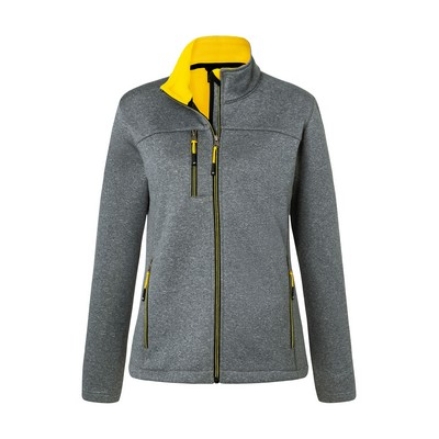 Picture of James & Nicholson  Ladies Softshell Jac
