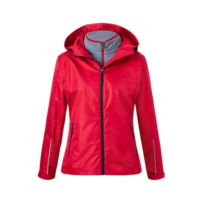 Picture of James & Nicholson  Ladies 3-in-1-Jacket