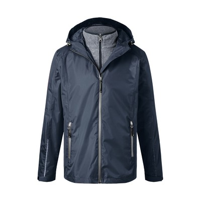 Picture of James & Nicholson Men 3-in-1-Jacket