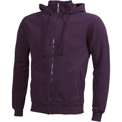 Picture of James & Nicholson Microfleece Hooded Ja