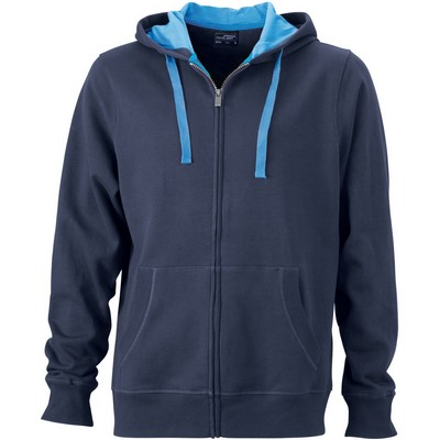Picture of James & Nicholson Men Hooded Jacket