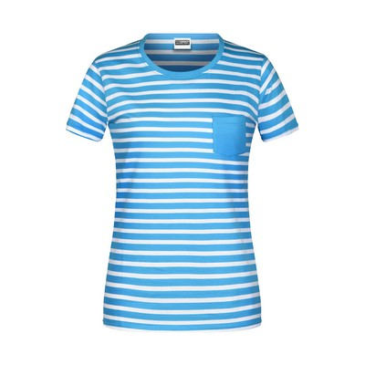 Picture of James & Nicholson Ladies T-Shirt Stripe