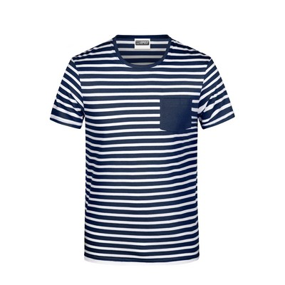 Picture of James & Nicholson Men T-Shirt Striped