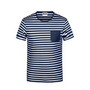 James & Nicholson Men T-Shirt Striped