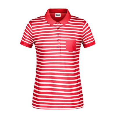 Picture of James & Nicholson Ladies Polo Striped