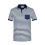 James & Nicholson Men Polo Striped