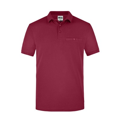 Picture of James & Nicholson Men Workwear Polo Po