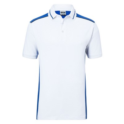 Picture of James & Nicholson Men Workwear Polo-Le