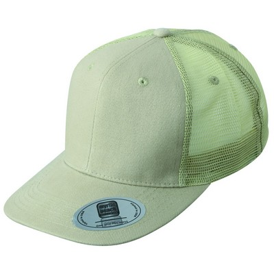 Picture of Myrtle Beach 6 Panel Flat Peak Cap