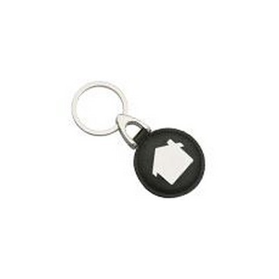Picture of Leather & Metal Key Rings