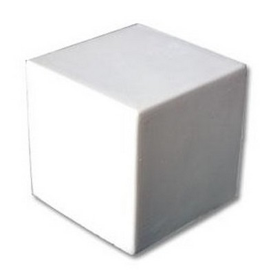 Picture of Stress Cubic White