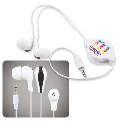 Picture of Zen Retractable Earbuds  Headphones