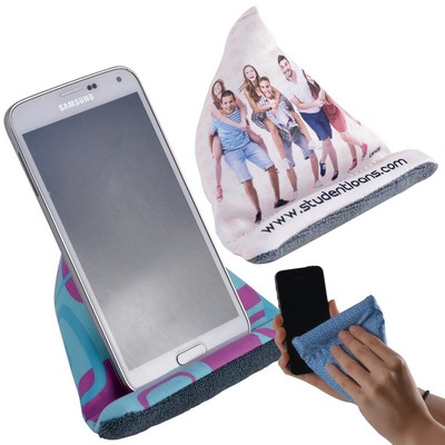 Picture of Microfibre Bean Bag Phone Chair  Cleaner
