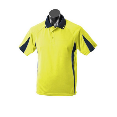 Picture of Mens Hi Viz Eureka Polo with Pocket