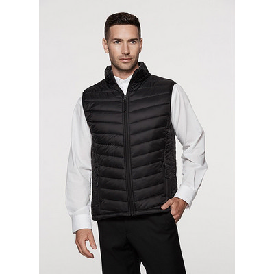 Picture of Mens Snowy Puffer Vest