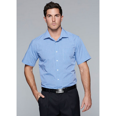Picture of Mens Toorak Check Short Sleeve Shirt