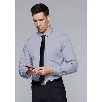 Picture of Mens Toorak Check Long Sleeve Shirt