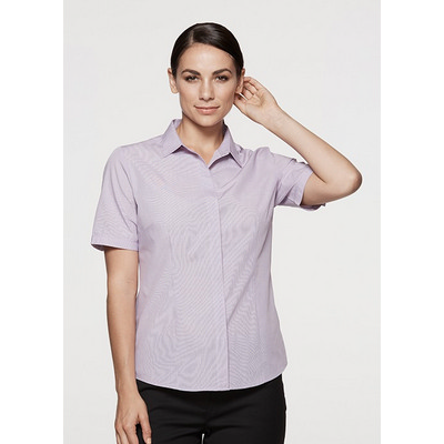 Picture of Ladies Grange Check Short Sleeve Shirt