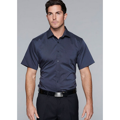 Picture of Mens Mosman Stretch Short Sleeve Shirt