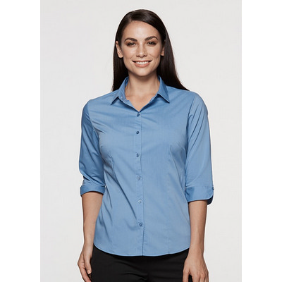Picture of Ladies Mosman Stretch 3/4 Sleeve Shirt