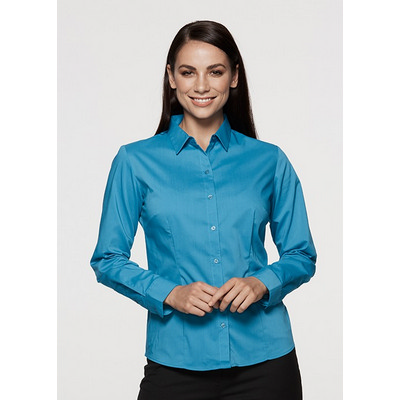 Picture of Ladies Mosman Stretch Long Sleeve Shirt