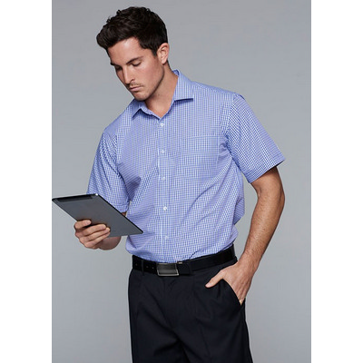 Picture of Mens Epsom Short Sleeve Shirt