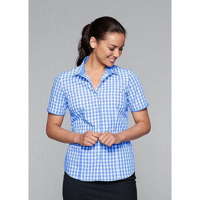 Picture of Ladies Devonport Short Sleeve Shirt